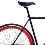 Quella Fixed Gear Bike Nero – Red-7021