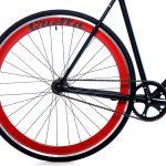 Quella Fixed Gear Bike Nero – Red-7022