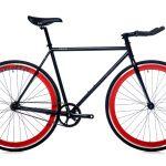 Quella Fixed Gear Bike Nero – Red-0