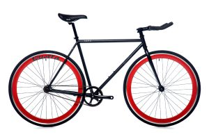 Quella Fixed Gear Bike Nero - Red-0