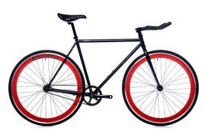 Quella Fixed Gear Bike Nero - Red-0