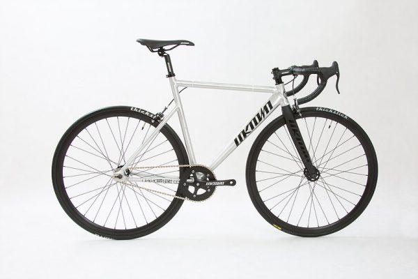 Unknown Bikes Fixed Gear Bike PS1 - Silver-0