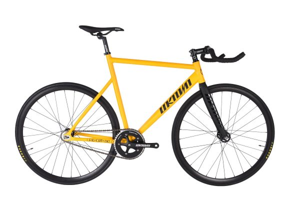 Unknown Bikes Fixed Gear Bike PS1 - Yellow-0