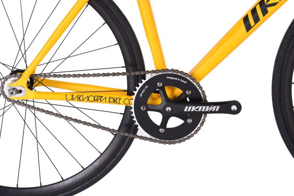 Unknown Bikes Fixed Gear Bike PS1 - Yellow-7463