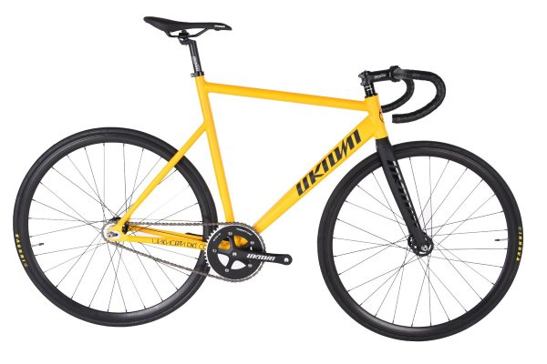 Unknown Bikes Fixed Gear Bike PS1 - Yellow-7467