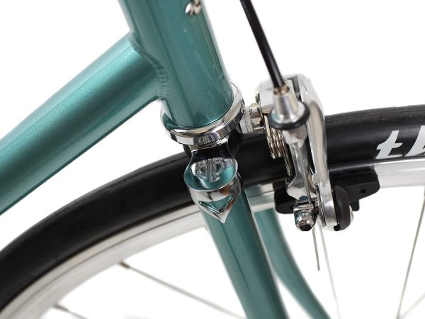 BLB City Classic Fixie & Single-speed Bike - Green-7984