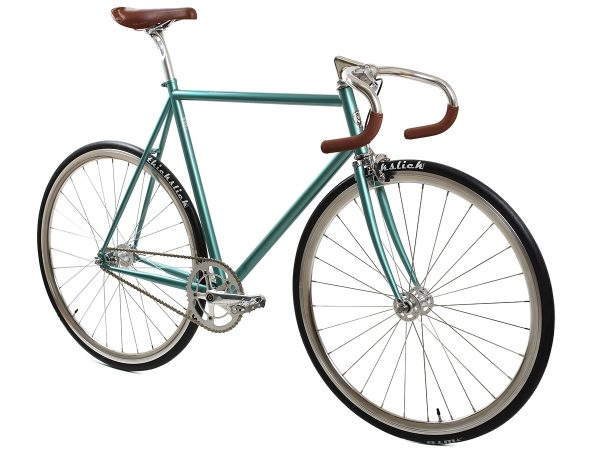 BLB City Classic Fixie & Single-speed Bike - Green-7988