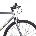 Unknown Bikes Fixed Gear Bike SC-1 – Gray -7958