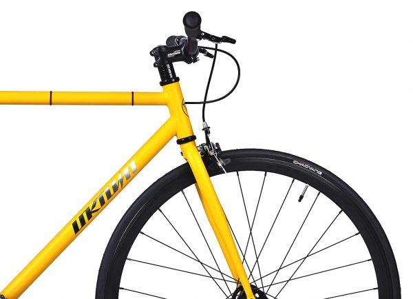 Unknown Bikes Fixed Gear Bike SC-1 - Yellow -7941