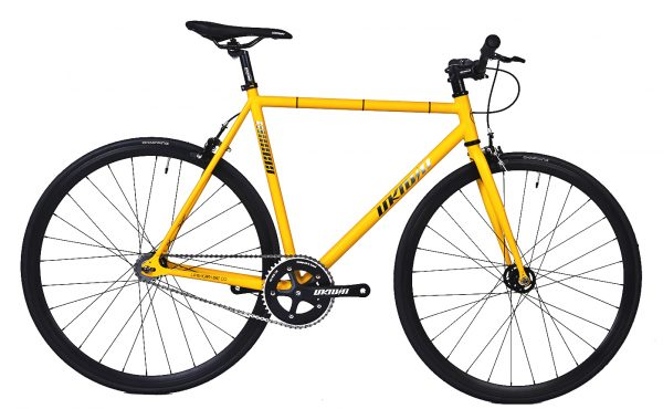 Unknown Bikes Fixed Gear Bike SC-1 - Yellow -0