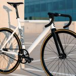 State Bicycle Co. Fixed Gear Bicycle Black Label v2 Pearl White-11289