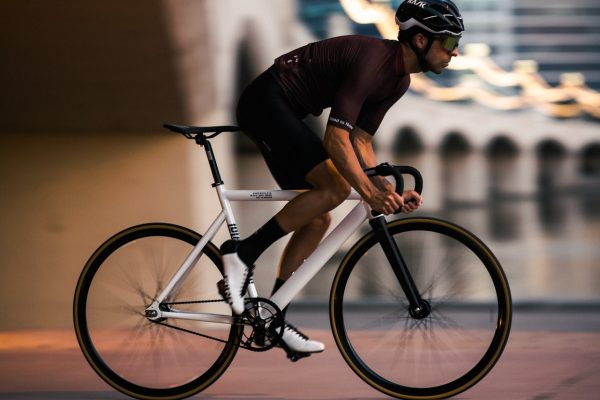 State Bicycle Co. Fixed Gear Bicycle Black Label v2 Pearl White-11293