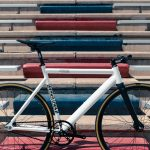 State Bicycle Co. Fixed Gear Bicycle Black Label v2 Pearl White-11294