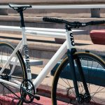 State Bicycle Co. Fixed Gear Bicycle Black Label v2 Pearl White-11295