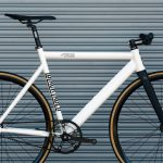 State Bicycle Co. Fixed Gear Bicycle Black Label v2 Pearl White-11300