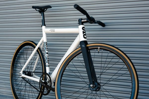 State Bicycle Co. Fixed Gear Bicycle Black Label v2 Pearl White-11301