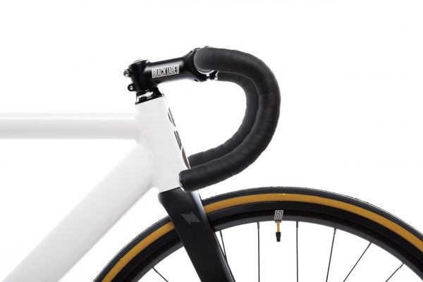 State Bicycle Co. Fixed Gear Bicycle Black Label v2 Pearl White-11282