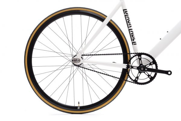 State Bicycle Co. Fixed Gear Bicycle Black Label v2 Pearl White-11283