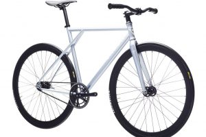 Poloandbike Fixed Gear Bicycle CMNDR 2018 CG2 - Silver-11375