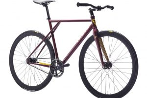 Poloandbike Fixed Gear Bicycle CMNDR 2018 CP3 - Purple-11366