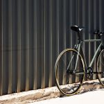 State Bicycle Fixed Gear : Single speed 4130 Army Green