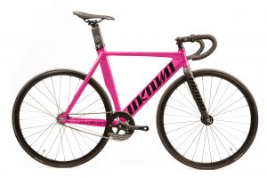 Unknown Bikes Fixed Gear Bike Singularity - Pink-0