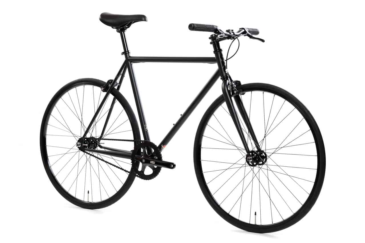 State Bicycle Fixed Gear 4130 Core Line Matte Black 6