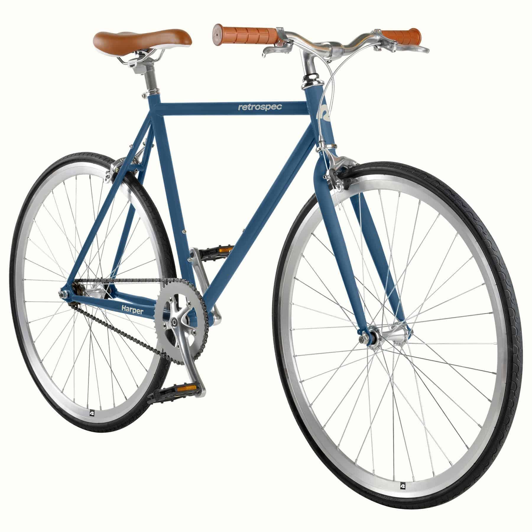 Retrospec Harper Fixie Bike / Single Speed – Navy